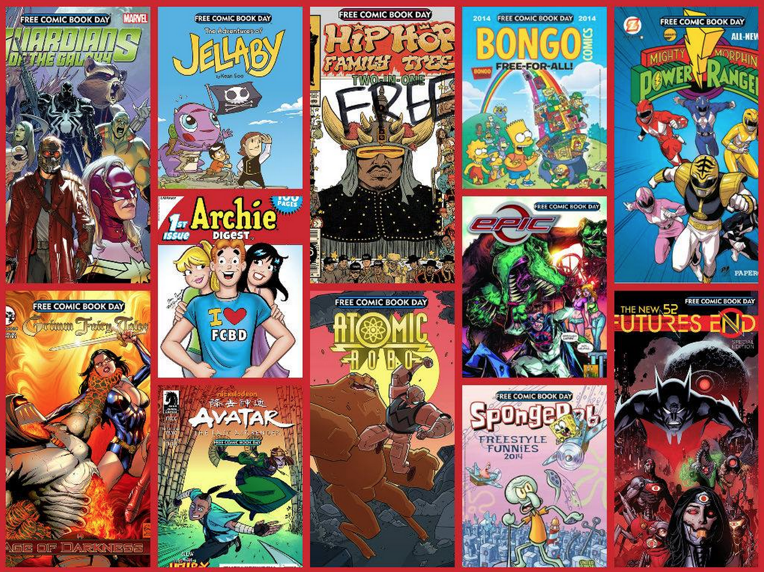 Free Comic Book Day FREE Comic Book Day is So Close! Saturday, May 3, 2014!