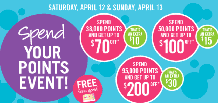 Shoppers Drug Mart Canada Points Redemption Event Shoppers Drug Mart Canada Spend Your Points Event, Up To $200 FREE Stuff! April 12 13