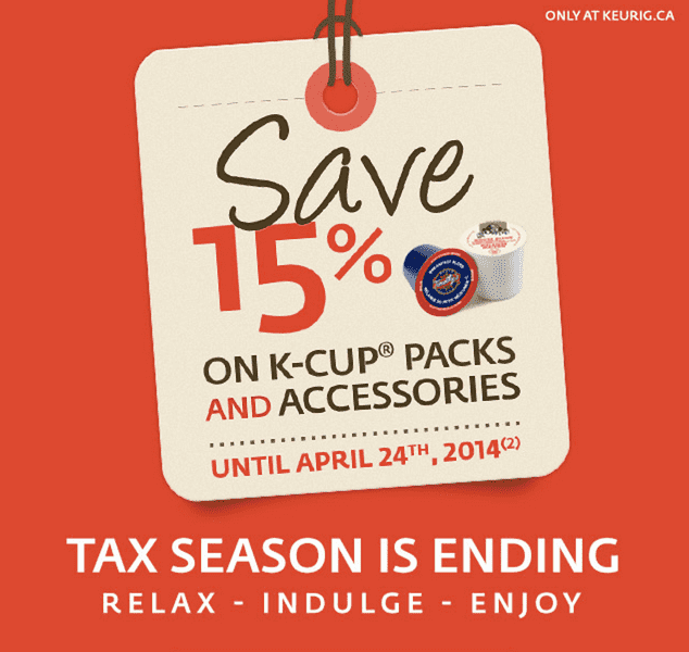 z1397691114 small Keurig Canada Deals: Get 15% Off K Cup Packs And Accessories