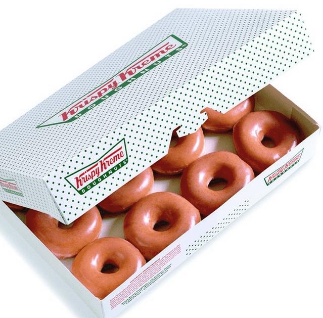 krispy kreme doughnuts canada freebies buy any dozen. Black Bedroom Furniture Sets. Home Design Ideas
