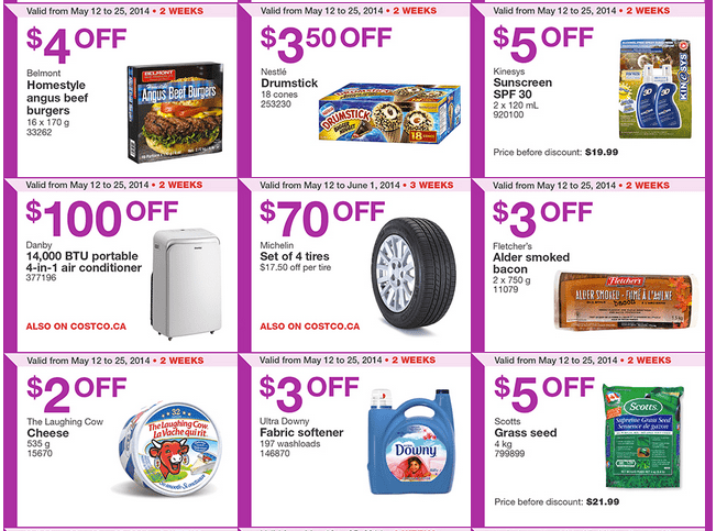 Costco W2 Costco Canada Weekly Instant Handouts Coupons For British Columbia, Alberta, Saskatchewan & Manitoba, Until May 25, 2014