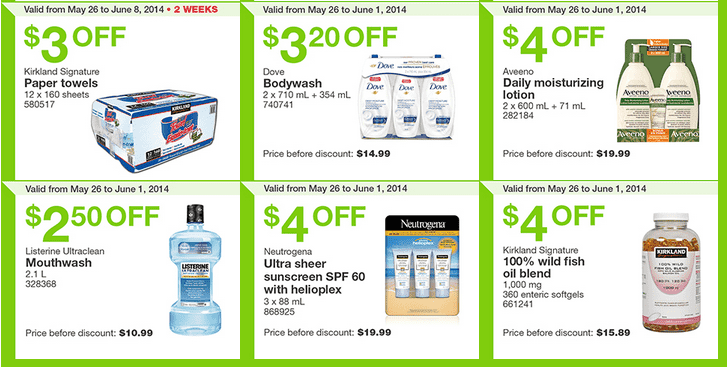 Costco e32 Costco Canada Weekly Instant Handouts Coupons: Ontario, Quebec & Atlantic, Monday, May 26 To Sunday, June 1, 2014