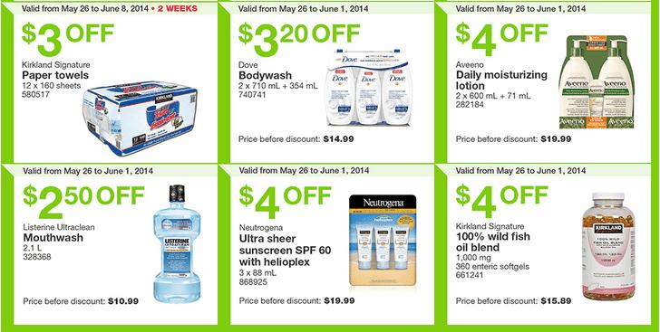 Costco e32 Costco Canada Weekly Instant Handouts Coupons: Ontario, Quebec & Atlantic, Monday, May 26 To Sunday, June 1, 2014