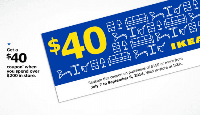 Ikea coupons discounts