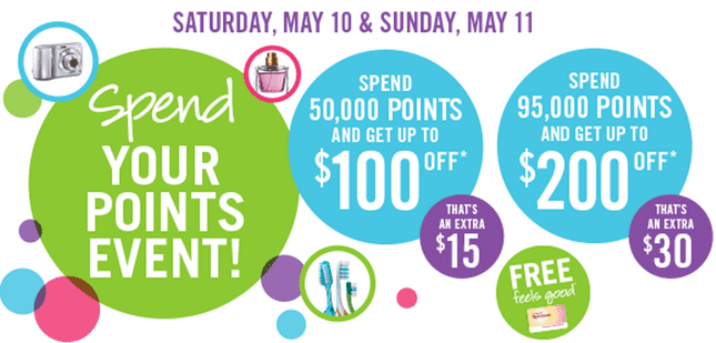 Shoppers Drug Mart Bonus Optimum Points Redemption Shoppers Drug Mart Canada Bonus Optimum Points Redemption Event, Spend Your Points for up to $200 OFF!
