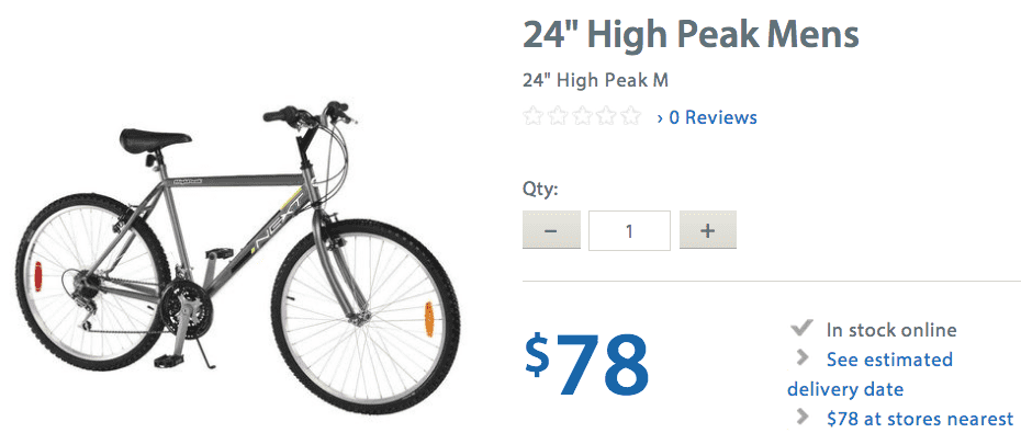 Walmart 2 Walmart Canada Best Offers Of The Season: Save up to 42% on Appliances, Men & Womens Bikes From $78 & More + FREE Shipping