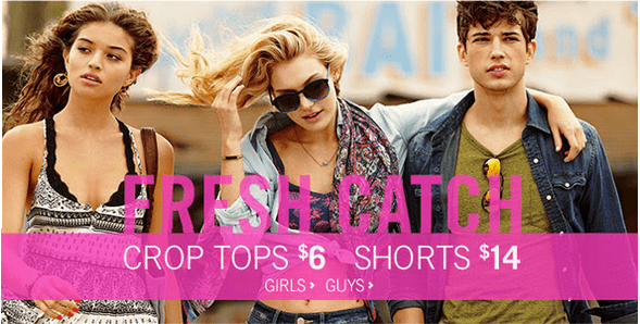Aeropostale 2 Aeropostale Canada Promo Code Offers: Get An Extra $20 Off $100 Online & More