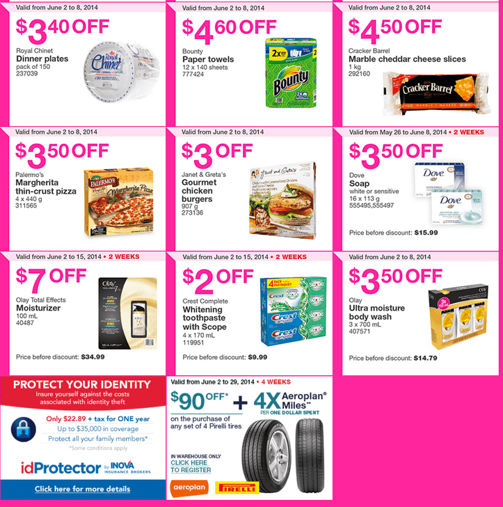 Costco Wholesale warehouses Coupons in British Columbia Alberta Saskatchewan and Manitoba