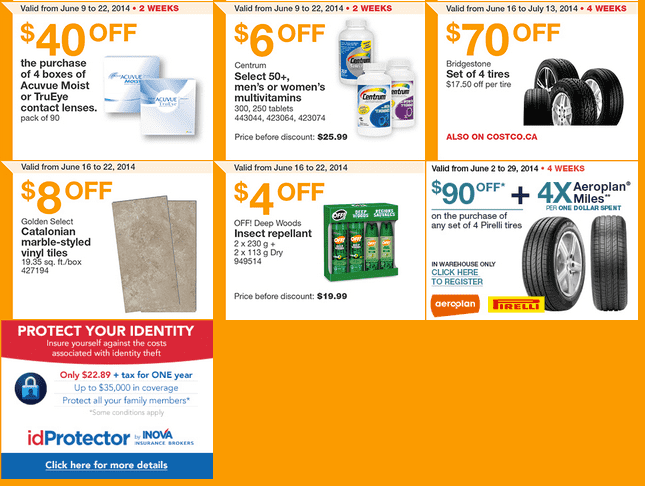 Costco w2 Costco Canada Weekly Instant Handouts Coupons For British Columbia, Alberta, Saskatchewan & Manitoba, June 16 To June 22, 2014