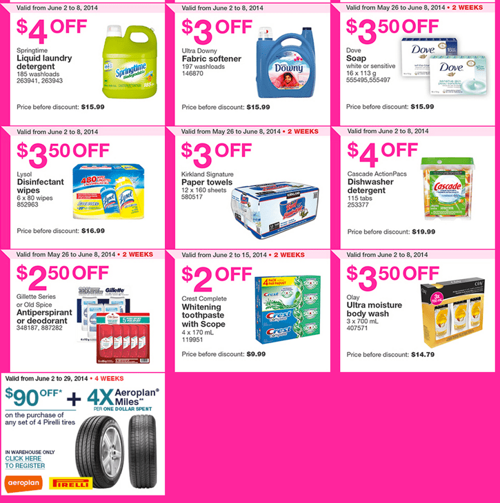 Costco warehouses Coupons in Quebec. Costco Canada Weekly Instant Handouts Coupons For Quebec: From June 2 To June 8, 2014
