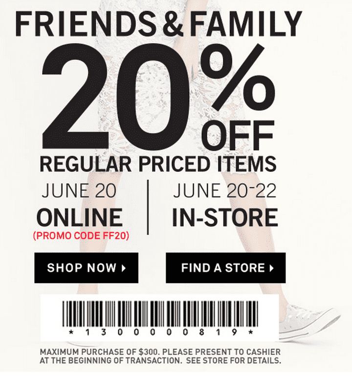 Coupon codes forever 21