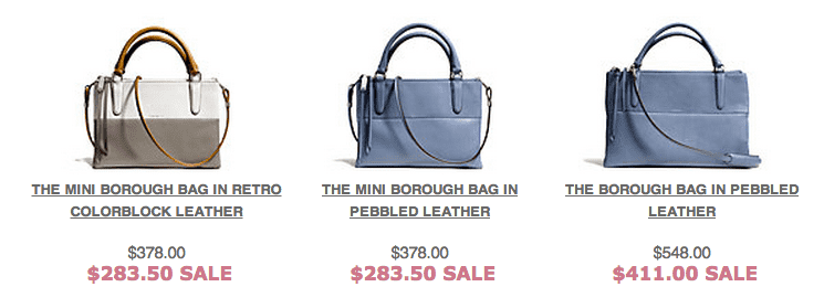 Hudsons Bay Coach Hudsons Bay Canada Offers: Get 25% Off Selected Coach Handbags!