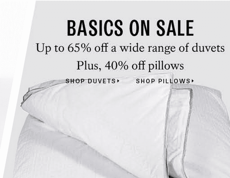 Hudsons Bay Duvets Hudsons Bay Canada Canada Deals: Save Up To 65% Off Duvets & 40% Off Pillows