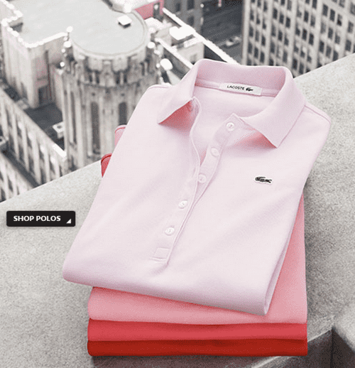 Lacoste Canada Coupons & Promo Codes. Sale Get Free Shipping On Any Order At Lacoste Canada. Up To 50% Off Men's Sweatshirts From Lacoste Canada. Shop this St. Paddy's Day offer from Lacoste Canada and find everything you need. Up to 50% off men's sweatshirts.