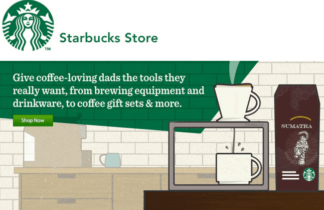 Starbucks Free Shipping Policy. Orders over $75 qualify for FREE ground shipping. Faster shipping options are available for a flat fee. Most orders are processed and shipped the following business day. Starbucks Return Policy. Returns and exchanges are honored if merchandise is sent back within 60 days of purchase.