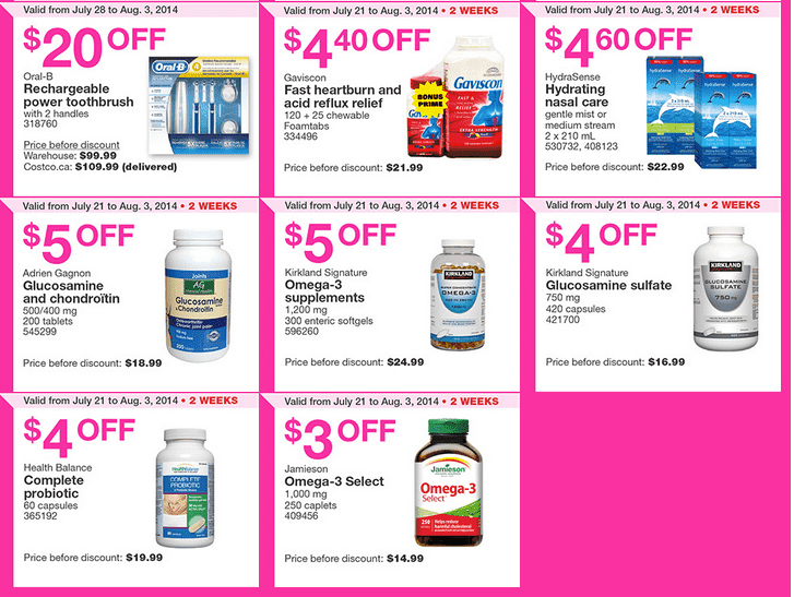 Costco q2 Costco Canada Weekly Instant Handouts Coupons For Quebec: From July 28 To August 3, 2014