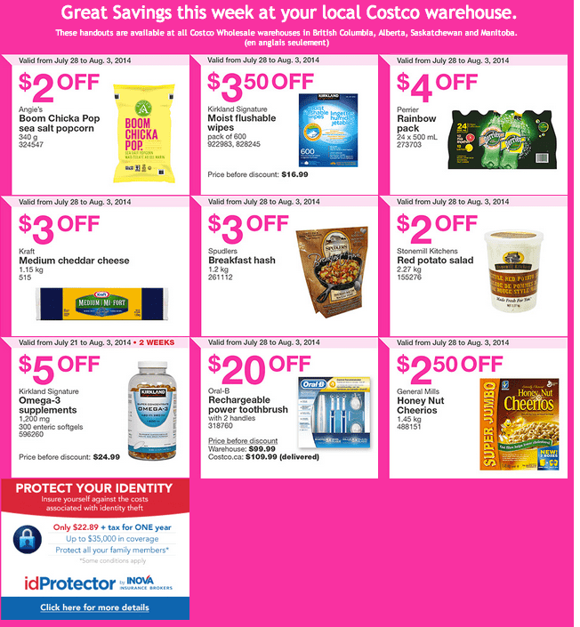 Screen Shot 2014 07 28 at 5.23.45 AM Costco Canada Weekly Instant Handouts Coupons For British Columbia, Alberta, Saskatchewan & Manitoba Provinces From Monday July 28 Until Sunday, August 3, 2014