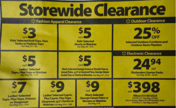Walmart Canada Storewide Clearance Sale  Walmart Canada Storewide Clearance Sale Promotions + FREE Shipping!