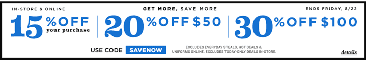 30 old navy coupon