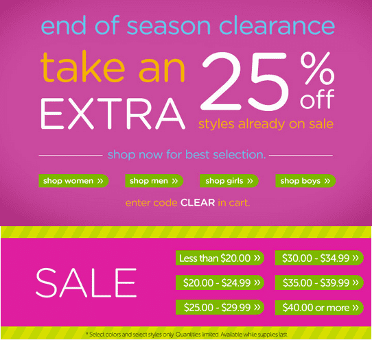 Crocs 3 Crocs Canada End Of Season Clearance Sale: Get An Additional 25% Off Sale Styles