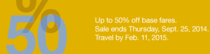 Porter Canada Sale Porter Airlines Canada Sale: Get Up to 50% Off Base Fares / Flight Tickets! No Promo Code Required!