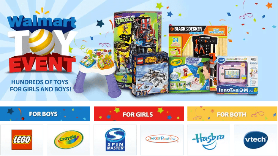 Walmart Toys For Boys : Walmart canada toy event deals save up to on hundreds