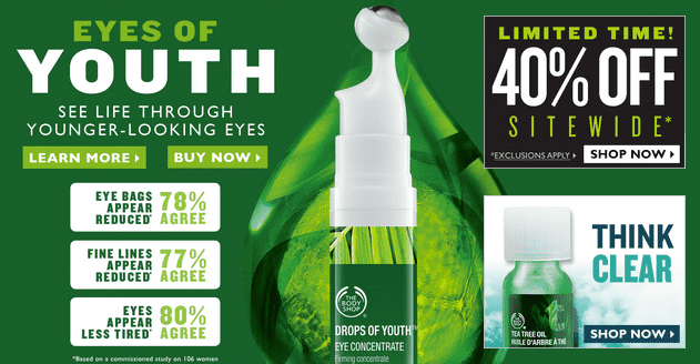 The Body Shop 11 The Body Shop Canada Deals: Take 40% OFF Everything!