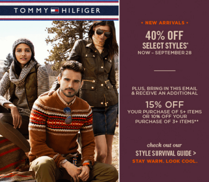 Join The Hilfiger Club And Enjoy 20% Off Your First Purchase. BUT WAIT, THERE'S MORE Invites to special events, members-only offers, birthday.