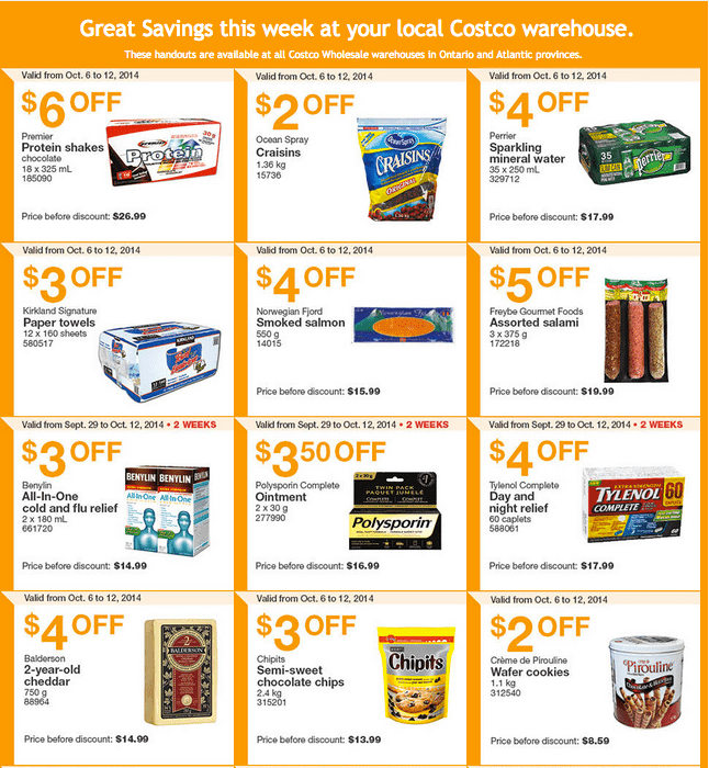 Screen Shot 2014 10 06 at 11.23.47 AM Costco Canada Weekly Eastern Instant Handouts Flyers: Ontario & Atlantic Provinces, Monday, October 6 Until Sunday, October 12, 2014