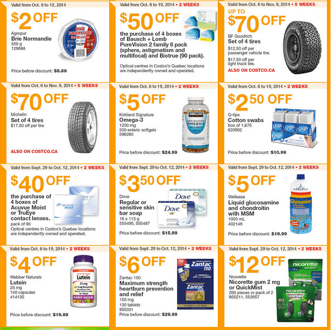 Screen Shot 2014 10 06 at 11.24.17 AM Costco Canada Weekly Eastern Instant Handouts Flyers: Ontario & Atlantic Provinces, Monday, October 6 Until Sunday, October 12, 2014
