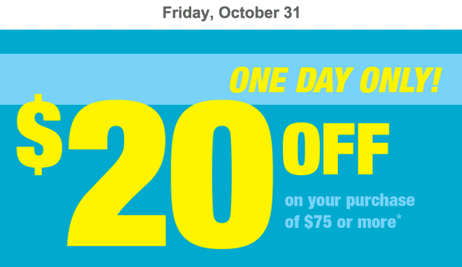 Shoppers Drug Mart Canada Printable Coupons Deals Shoppers Drug Mart Canada Printable Coupons: Save $20 when You Spend $75, This Friday, October 31