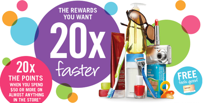 Shoppers Drug Mart Couppn Shoppers Drug Mart Printable Coupons: Get 20X Your Optimum Points when You Spend $50 On Anything, Wednesday, October 29