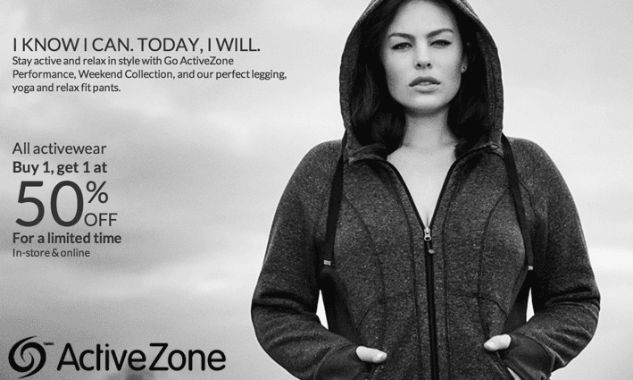 z1413830067 small Penningtons Canada Sale: All Activewear Buy 1, Get 1 at 50% OFF!