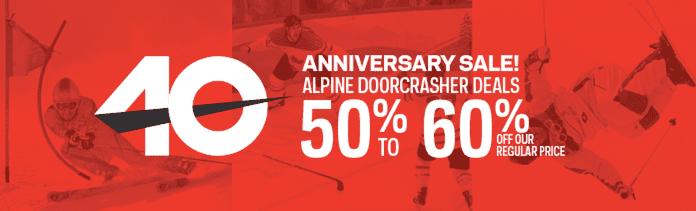 z1414058347 small SportChek Canada 40th Anniversary Sale Event: Save 50% to 60% Off SportChek Regular Price!