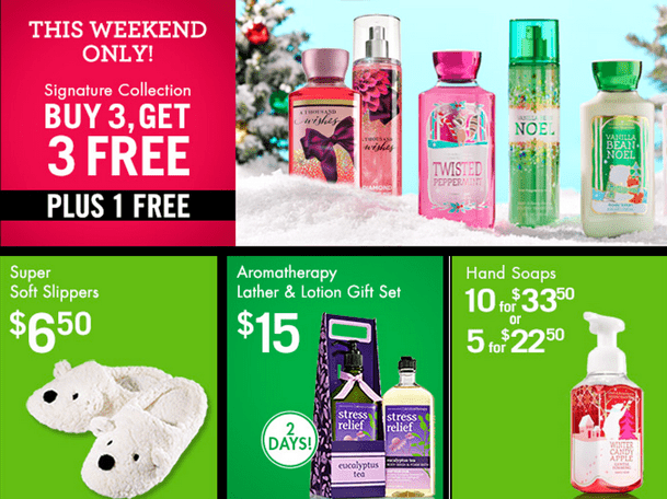 Bath Amp Body Works Canada Black Friday 2014 Sale And Deals