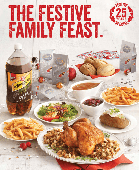 Swiss Chalet Canada Family sale Swiss Chalet Canada Promotions: The Festive Family Feast Meal For Just $41.99!