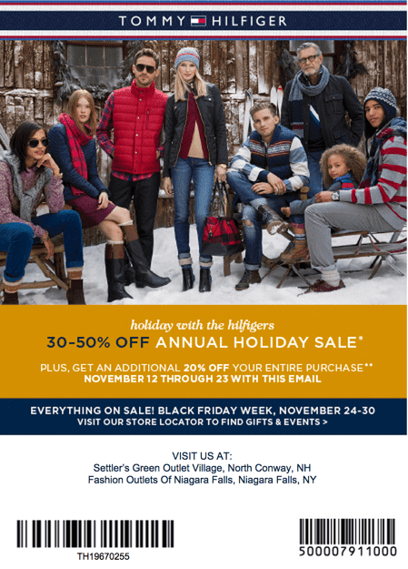 picture relating to Tommy Hilfiger Outlet Coupon Printable known as Tommy hilfiger coupon printable canada : Ps3 console discount codes
