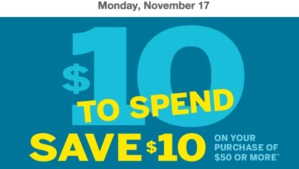 z1416182971 small Shoppers Drug Mart Canada Printable Coupons: Save $10 on Your Purchase of $50 or More On Monday, November 17th
