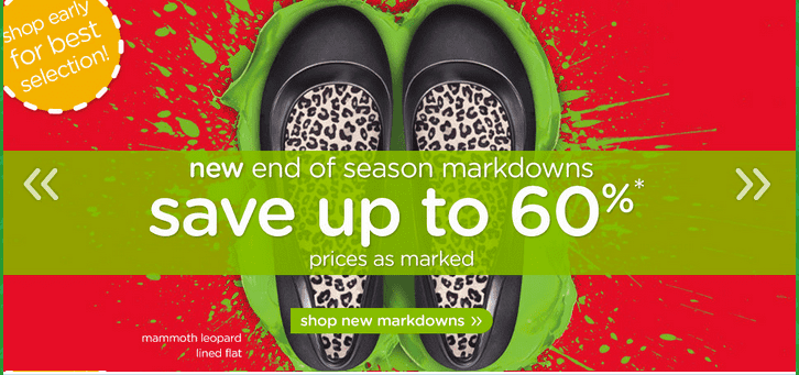 Crocs1 Crocs Canada End Of Season Markdowns: Save Up To 60% Off