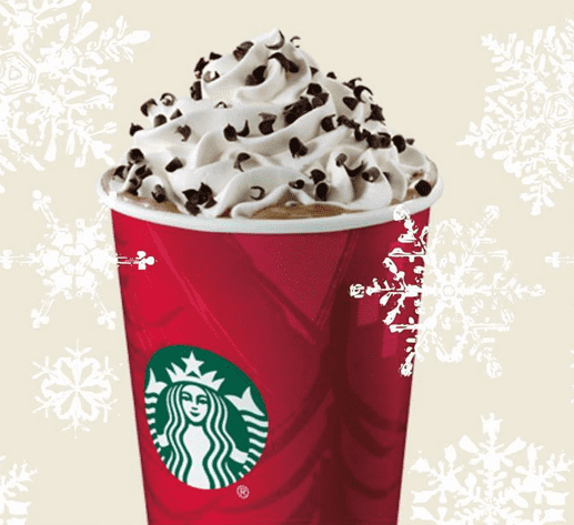 Starbucks Canada Deals Starbucks Canada Offers: Half OFF Any Size Peppermint Mocha, Hot, Iced or As a Starbucks Frappuccino + Save 40% on All Holiday Merchandise!