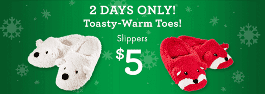 Super Soft Slippers deal at BB Works Bath & Body Works Canada Boxing Week Deals: Mix & Match Entire Store Event, Buy 3 Get 3 FREE + Just $5 for Super Soft Slippers!