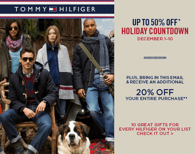 Come and read about the latest Tommy Hilfiger collections and choose your favorite line!