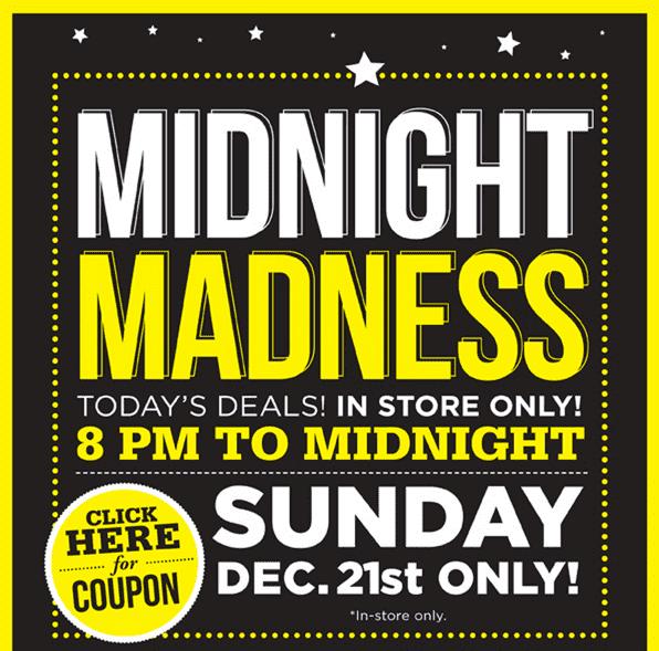 Food City Midnight Madness Sale July