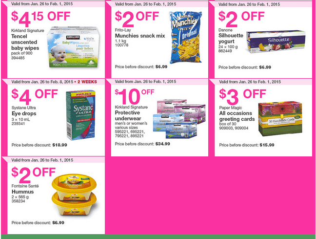Costco Quebec 2 Costco Canada Handouts Coupons Flyers Instant Savings For Quebec Province, January 26 Until February 1, 2015
