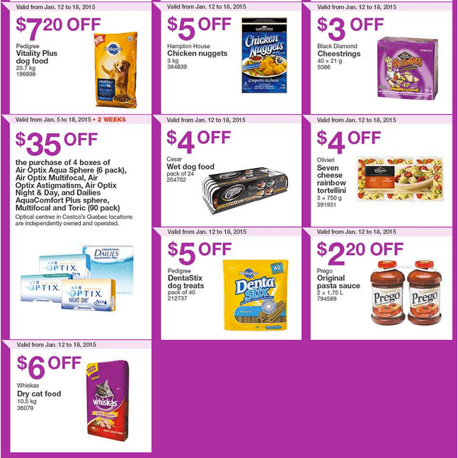 Costco West 21 Costco Canada Weekly Instant Savings Handouts Flyers For British Columbia, Alberta, Saskatchewan & Manitoba From Monday, January 12 Until Sunday, January 18, 2015