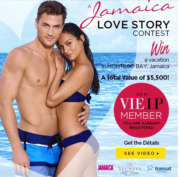 La Vie en Rose La Vie en Rose Canada Contest: Win A Vacation In Montego Bay, Jamaica (Value of $5,500)!