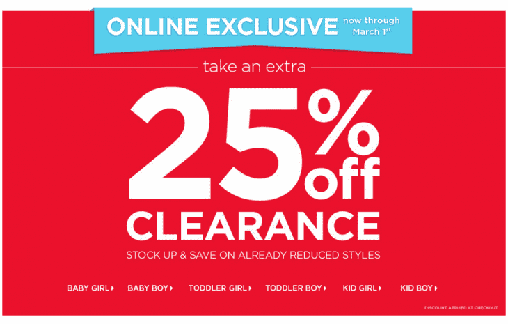 Carters 730x465 Carters OshKosh Canada Online Exclusive Offers: Take An Extra 25% Off Clearance
