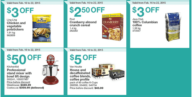Costco West 22 Costco Canada Weekly Instant Savings Handouts Flyers For British Columbia, Alberta, Saskatchewan & Manitoba From Monday, February 16 Until Sunday, February 22, 2015