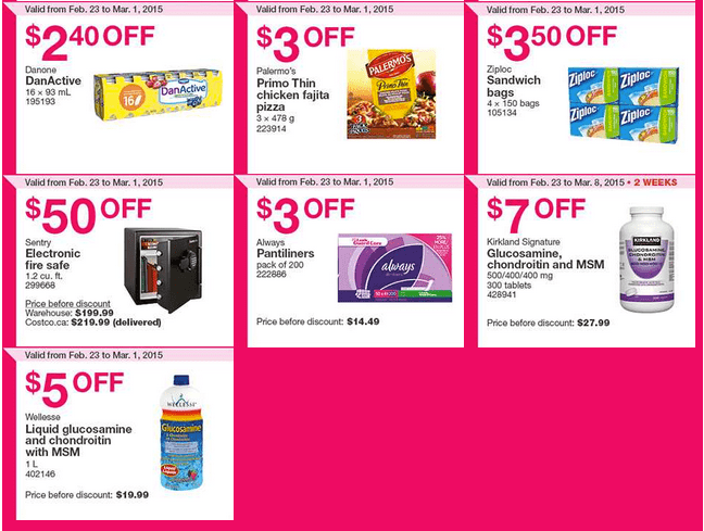 Costco West 23 Costco Canada Weekly Instant Savings Handouts Flyers For British Columbia, Alberta, Saskatchewan & Manitoba From Monday, February 23 Until Sunday, March 1, 2015