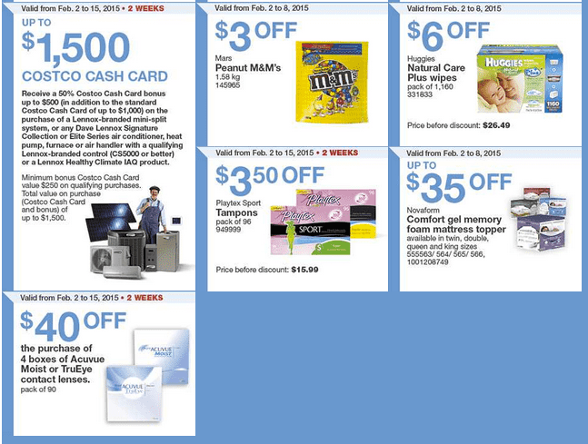 Costco West 3 Costco Canada Weekly Instant Savings Handouts Flyers For British Columbia, Alberta, Saskatchewan & Manitoba From Monday, February 2 Until Sunday, February 8, 2015